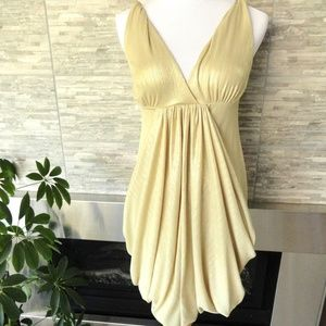 Dresses & Skirts - Gold Cocktail Dress | Holiday Party New Years XS